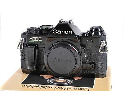 "Canon AE-1 Program ohne ""Asthma"" SLR-Kamera *TOP-Zustand*"