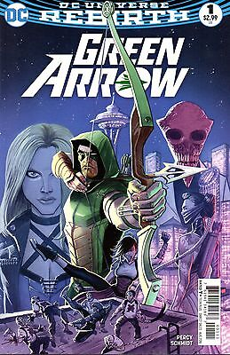 Green Arrow Comic 1 First Printing DC 2016 Percy Schmidt