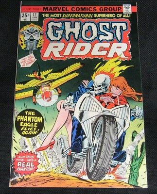 Ghost Rider #12 (1975) Marvel Bronze Age High Grade NM 9.4 CO741
