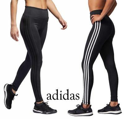 New Womens Adidas Essential 3 Stripe Tight! Active Tight Active Pant! Variety