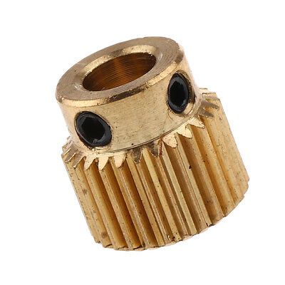 Extruder Pulley 26 Teeth Bore 5mm Drive Gear for 1.75mm Filament 3D Printers