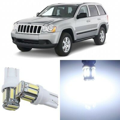 Tool 14 X Pink Interior Led Lights Package For 2005 2010 Jeep Grand Cherokee Car Truck Led Light Bulbs Auto Parts Accessories
