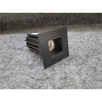 "Juno 2LEDTRIM G2 SQ 35K 90CRI FL BBL LED 2"" Square Down Light, 3500K, Black"