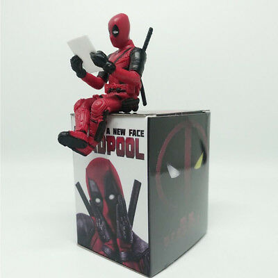 Marvel Superheld Figur X-Men Deadpool PVC Mini Figure Figuren Spielzeug Kinder