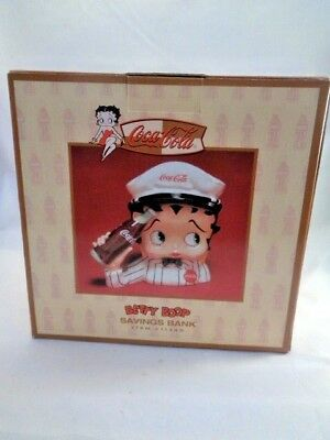 Coca Cola Betty Boop Savings Bank Item 11349 New In Box