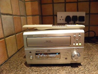 Denon Ud-M50 Cd Auto Changer Receiver Boxed With Remote Control