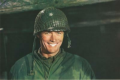 Clint Eastwood Kelly's Heroes Original Set Of 8 French Parisian Lobby Cards