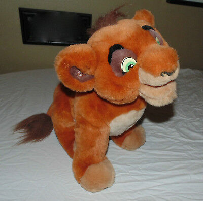 Disney The Lion King 2 Simbas Pride Kovu Interactive Plush Stuffed Animal Toy