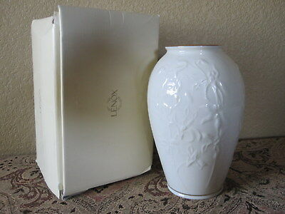 Genuine Vintage Usa Made Lenox Masterpiece Collection Decorative Vase New In Box