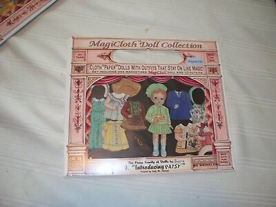 Patsy Cloth Paper Doll from Magicloth Doll Collection-1995