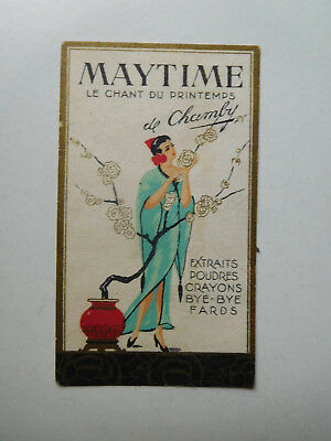 """Carte ancienne  """"maytime """" de CHAMBY"""