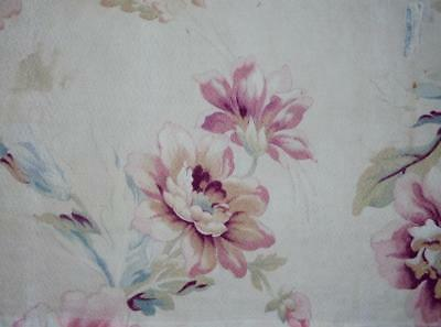 BEAUTIFUL FRAGMENT 19th CENTURY FRENCH LINEN & COTTON c1870s, REF PROJECTS