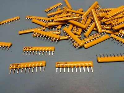 (100) 4610X-101-103 10K Ohm 2% 9R 10 PIN SIP THICK FILM RESISTOR NETWORK ARRAY
