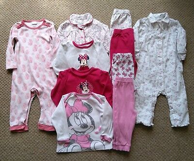 Girls Bundle of Pyjamas - 12-18 months (Minnie Mouse)