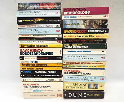 35X Mostly SCIENCE FICTION Paperback Books - S22