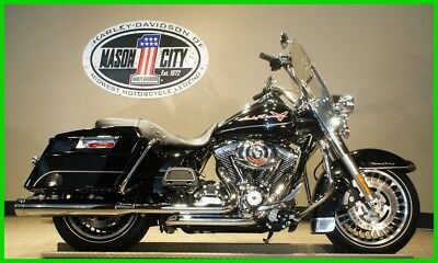 Touring  2013 Harley-Davidson FLHR Road King Vivid Black WATCH OUR VIDEO!