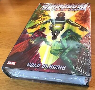 New Sealed Guardians Of The Galaxy Solo Classic Marvel Omnibus Edition Hardcover