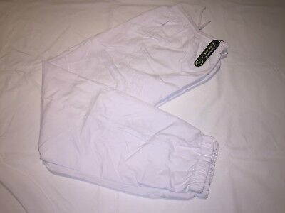 CLEARANCE MENS Tombo Track pants. White M x 18.