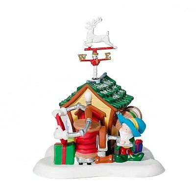Dept 56 North Pole Village - Wrap And Roll 56818 Retired Brand New In Box