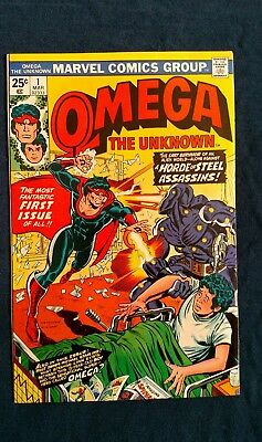 Omega The Unknown #1  9.0  Hot Book Movie Coming?