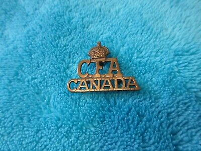 Ww1 Canadian Field Artillery Shoulder Title
