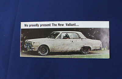 1963 Plymouth Valiant Sales Brochure D8472