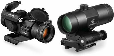 Vortex StrikeFire II Red Dot, 4 MOA Red/Green Dot with 3x : SF-RG-501-KIT1