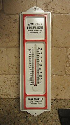 Appalachian Funeral Home Thermometer Johnson City Tennessee