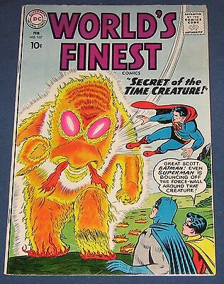 World's Finest Comics #107  Feb 1960  Batman