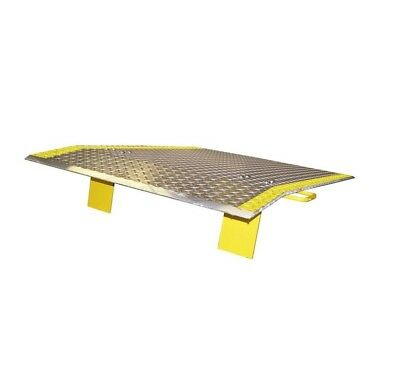 """Dock Plate with Handles 72"""" Wide x 48"""" Long (3400# Cap) (Fork Lift Wide)"""