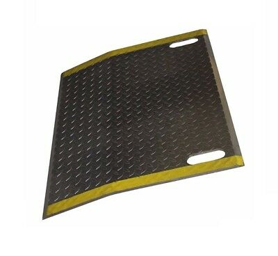 """Dock Plate with Slots for Handles 42"""" Wide x 24"""" Long (4300# Cap) (Narrow Width)"""