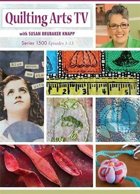 DVD Only! Quilting Arts TV Series 1500 with Susan Brubaker