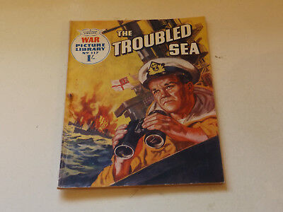 WAR PICTURE LIBRARY NO 117!,dated 1961!,GOOD for age,great 57!YEAR OLD issue.