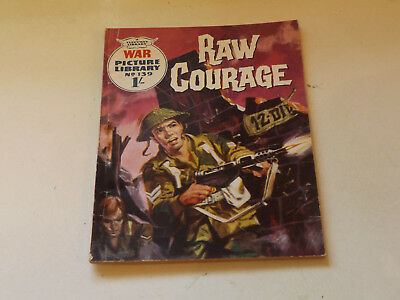WAR PICTURE LIBRARY NO 139!,dated 1962!,GOOD for age,great 56!YEAR OLD issue.