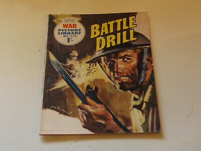 WAR PICTURE LIBRARY NO 304!,dated 1965!,GOOD for age,great 53!YEAR OLD issue.