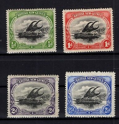 P80157/ British New Guinea – Sg # 2 / 3 – 9 – 12 Neufs * / Mint Mh 119 €