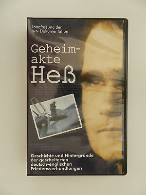 VHS Video Kassette Geheimakte Heß Dokumentation n-tv
