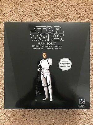 Gentle Giant Star Wars Han Solo Stormtrooper Disguise Deluxe Collectible Statue