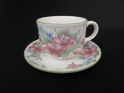 Royal Doulton Expressions Carmel Tea Cups and Saucers (u)