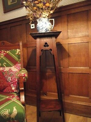 Arts and Crafts Table -  Antique Lamp Table - Antique Side Table
