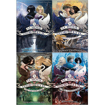 School for Good and Evil Series A World Without Princes 4 Books Collection Set