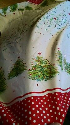 Pioneer Woman Holiday Tree Tablecloth