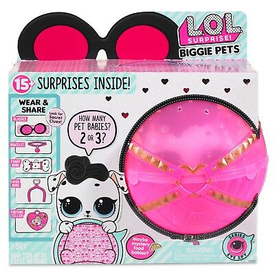 LOL SURPRISE! - BIGGIE PETS DOLLMATION L.O.L. Doll New 100% Real Authentic
