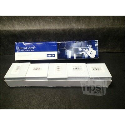 Lot of 500 Fargo CR-80 UltraCard 10 Mil Adhesive Mylar Backed PVC Cards