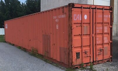 Used 40Ft Cube Shipping Containers Home Business Storage