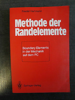 Methode der Randelemente Boundary Elements in der Mechanik auf dem PC