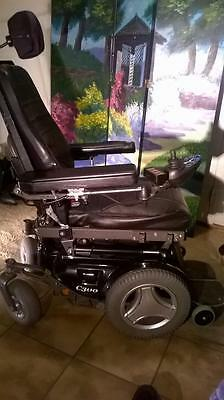 PERMOBIL C300 Power WheelChair Electric FULLY ADJUSTABLE Seat Back Leg Rest
