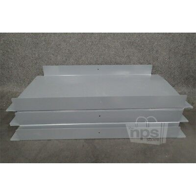 Case Of 5 Edsal HDS-3618 Steel Heavy Duty Shelves 18in x 36in Gray*