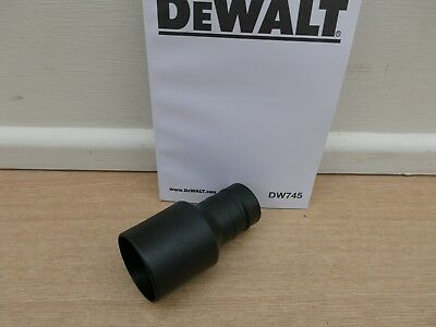 Dewalt Dw745 Type 4  Dcs7485 Table Saw Dust Port Extractor Adaptor 1004695-90