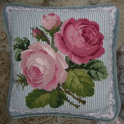 Elizabeth Bradley tapestry / cross stitch chart. Roses and Lace